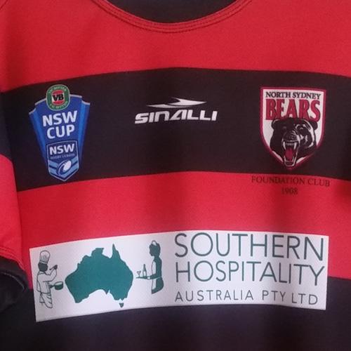 North Sydney Bears 2014 – Chris Grevsmuhl signed
