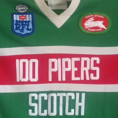 South Sydney Rabbitohs 1983 Reserve Grade Match Worn Jersey