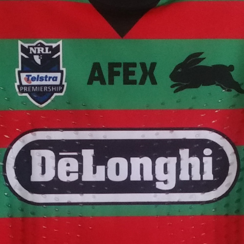 South Sydney Rabbitohs 2012 Bulldogs Semi Final jersey- Chris Mcqueen