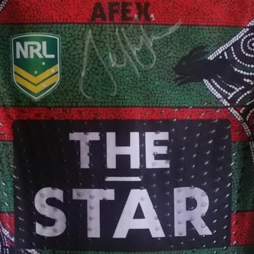 South Sydney Rabbitohs 2013 Indigenous  jersey- Jeff Lima