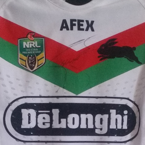 South Sydney Rabbitohs 2014 Alternate jersey – Isaac Luke