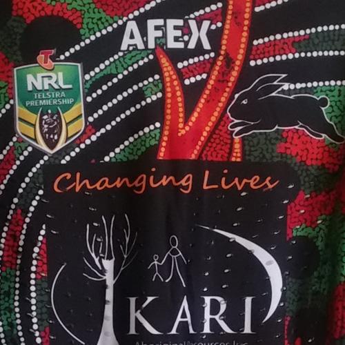 South Sydney Rabbitohs 2014 Indigenous jersey- Sam Burgess