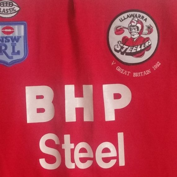 Illawarra Steelers 1992 Tour Match Jersey
