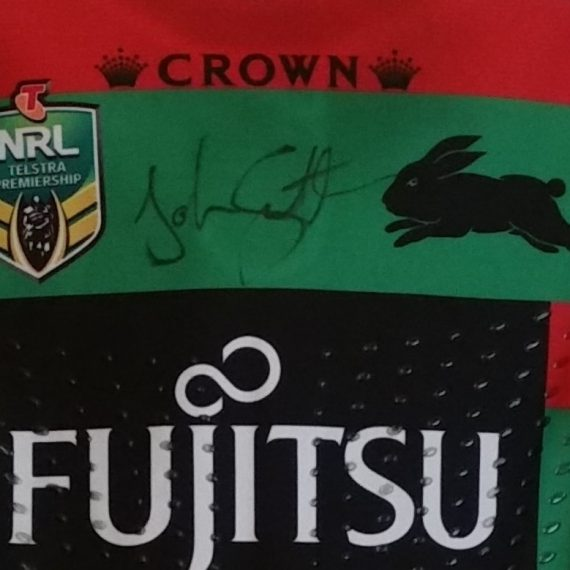 South Sydney Rabbitohs  2015 Fujitsu Home jersey – John Sutton