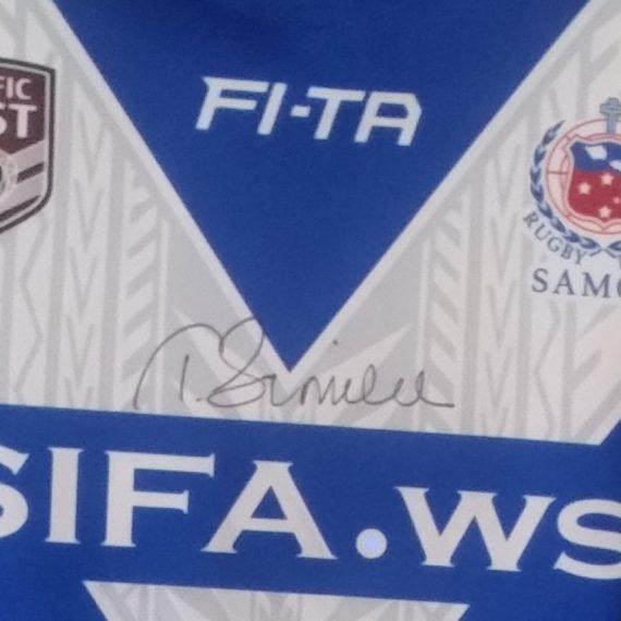 Samoa 2016 Pacific Test Tim Simona