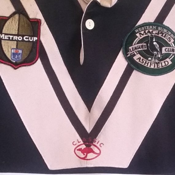 Wests Ashfield Magpies 2002 Metro Cup