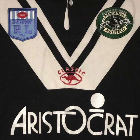 Wests Ashfield Magpies 1999