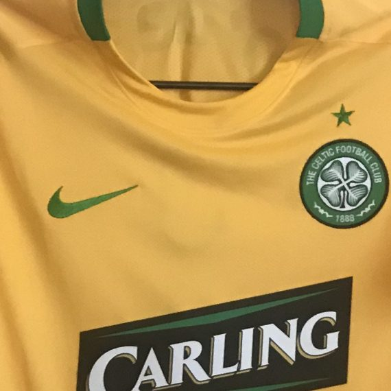 Celtic Away Shirt Champions League O Dea