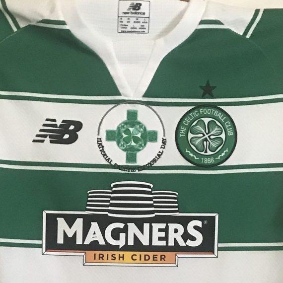 Celtic FC Famine Shirt 2015 Bitton