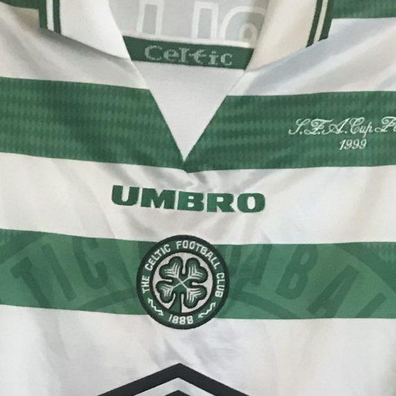 Celtic Scottish Cup Final 1999 Mjallby shirt