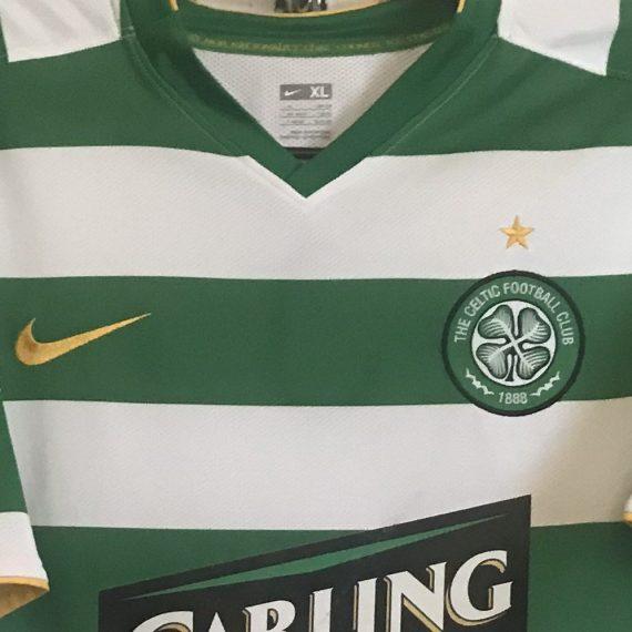 Celtic FC Champions League Donati Match Shirt