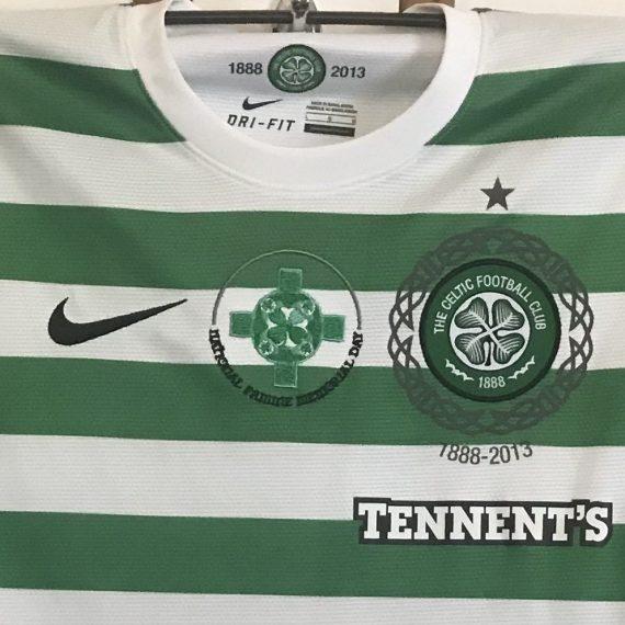 Celtic fc 2013 Famine Shirt Forrest