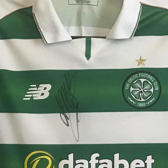 Celtic FC Dembele 16-17 match shirt