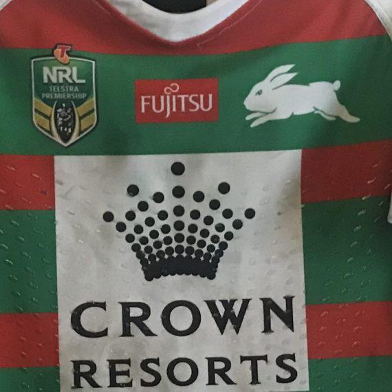 South Sydney Rabbitohs 2018 Match Worn jersey final  vs Storms Greg Inglis