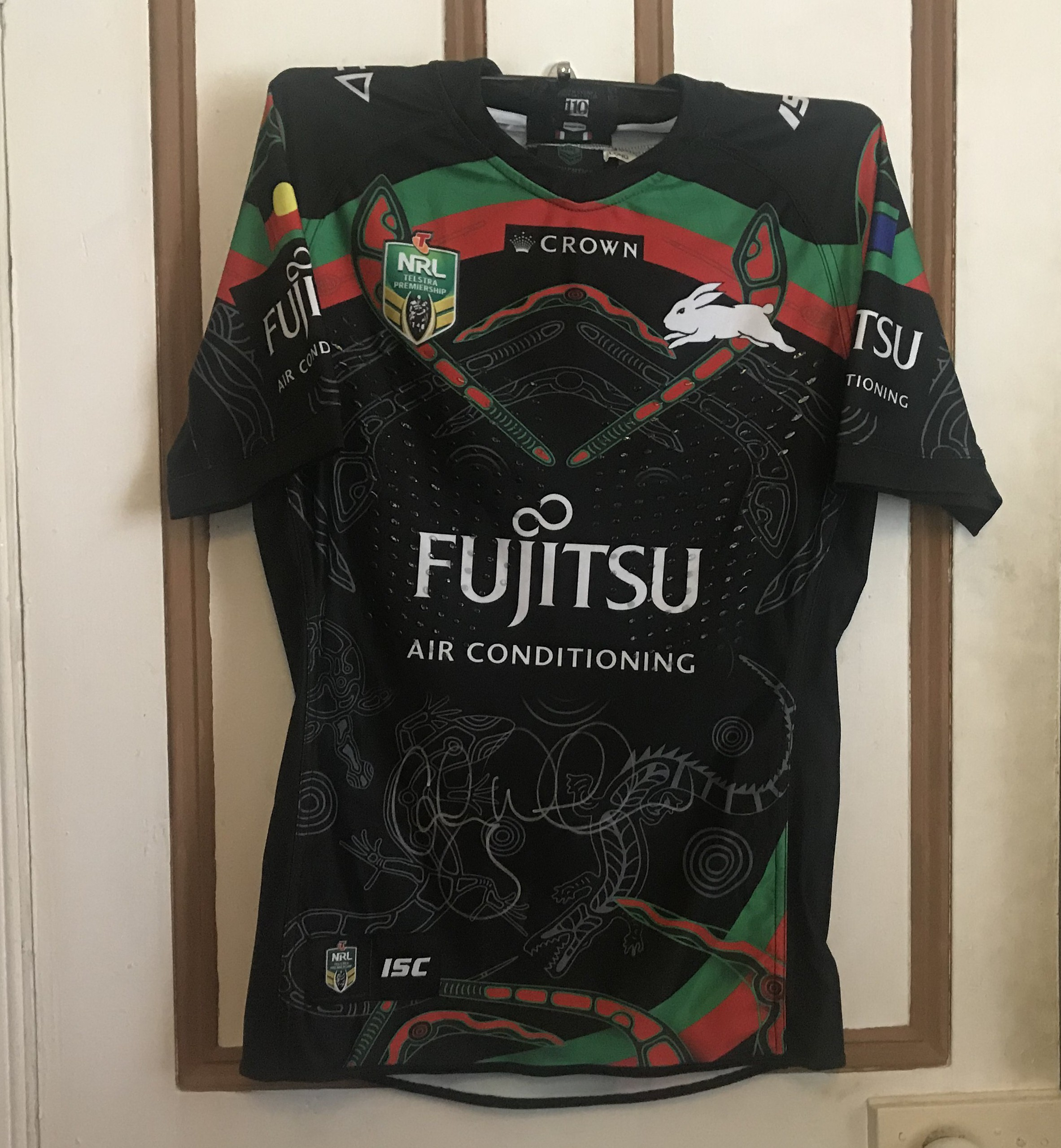 South Sydney Rabbitohs 2018 Indigenous Jersey Cody Walker Comrade Party Panda S Jersey Collection