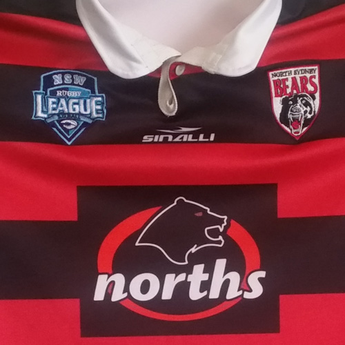 North Sydney Bears 2012 – Ben Mitchell signed