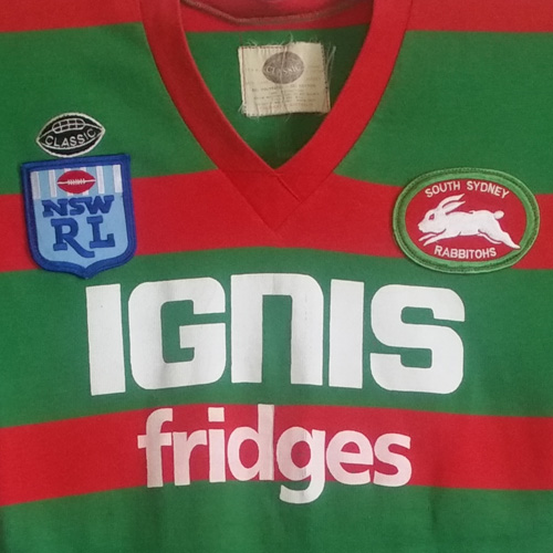 South Sydney Rabbitohs 1985 – Player Issue Jersey