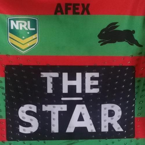 South Sydney Rabbitohs 2013 Heritage jersey- Isaac Luke