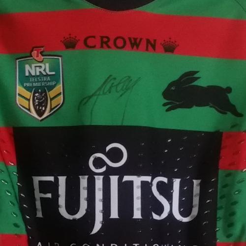 South Sydney Rabbitohs 2015 Fujitsu Home jersey- Aaron Gray