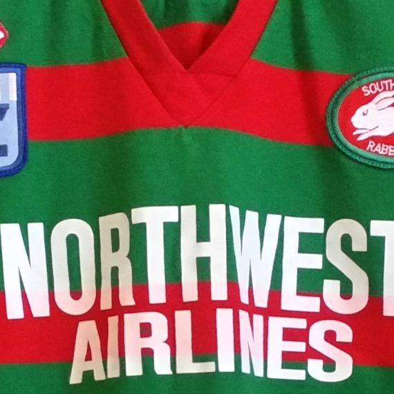 South Sydney Rabbitohs 1993 Players jersey