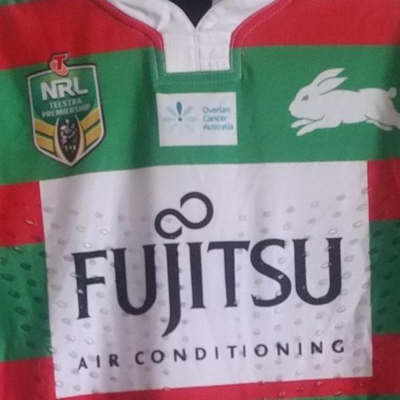 South Sydney Rabbitohs 2016 OCA jersey- Angus Crichton