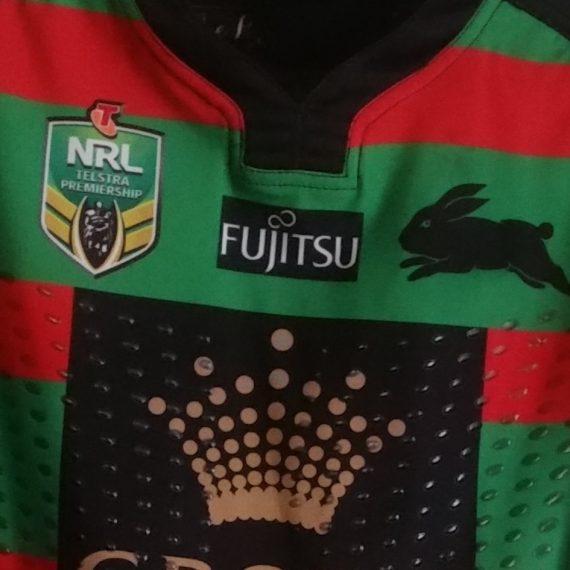 South Sydney Rabbitohs 2016 Home jersey- Cameron Mcinnes