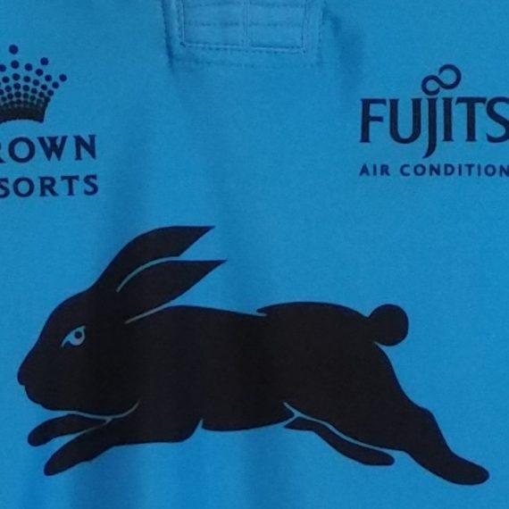 South Sydney Rabbitohs 2016 blue training jersey