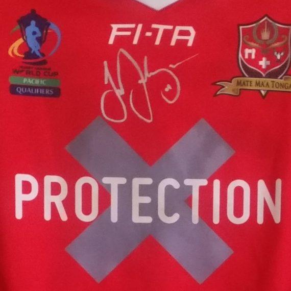 Tonga-World Cup qualifiers Joe Ofahengaue