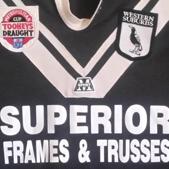 Western Suburbs Magpies 1992 Metro Cup