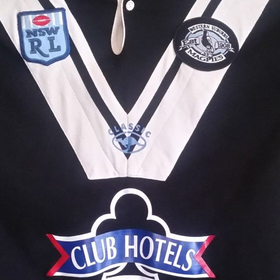 Western Suburbs Magpies 2000 Home Jersey
