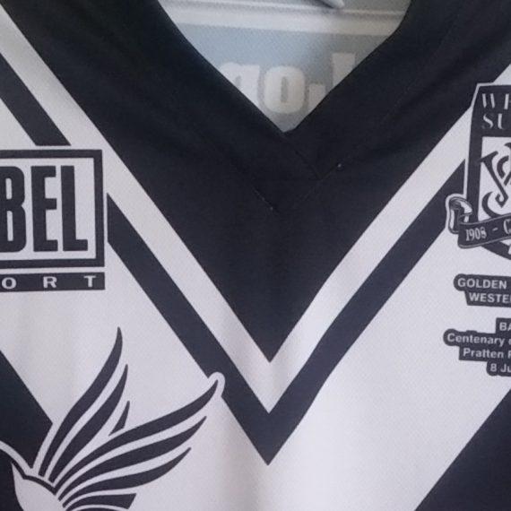 Western Suburbs Magpies 2008 Training Shirt
