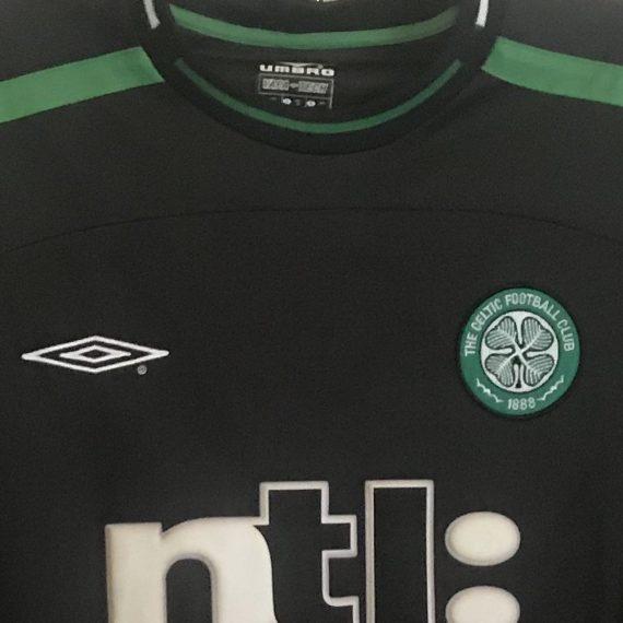 2001-02 Celtic Match Worn Champions League GK Shirt Douglas #20 (v Ajax)
