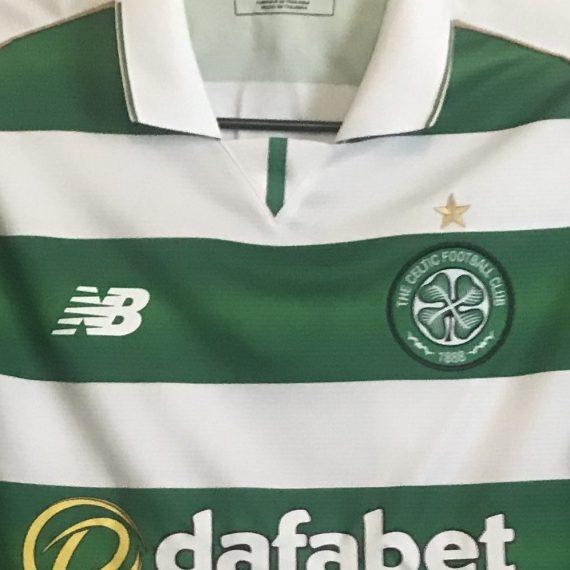 Celtic FC Scottish Cup Semi Final Match Worn vs Rangers Season 16/17
