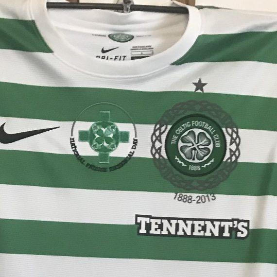 Celtic fc 2013 Famine Shirt Rogic