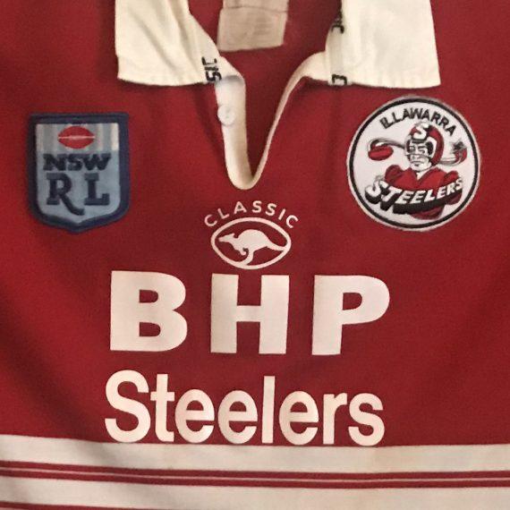 Illawarra Steelers 1997 Reserve Grade jersey