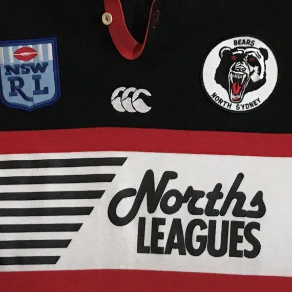 North Sydney Bears 1994 Pre Season jersey