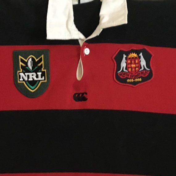 North Sydney Bears 1998 Centenary Game jersey