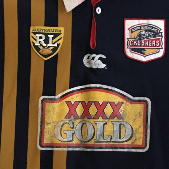 South Queensland Crushers 1995 Away jersey