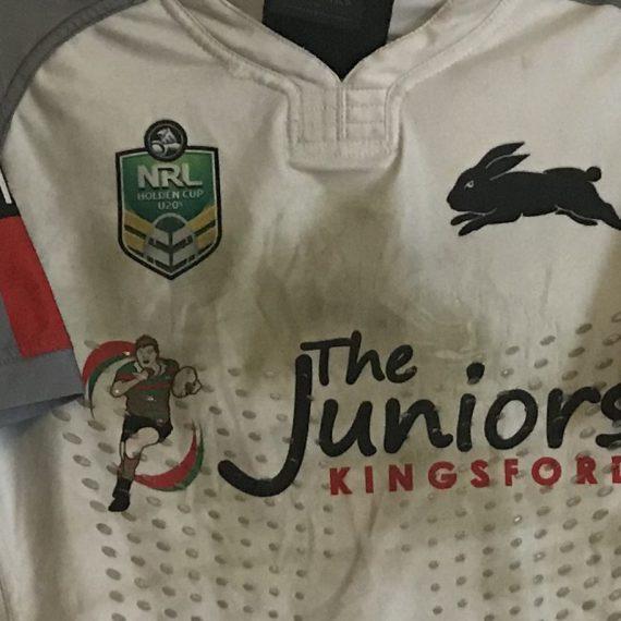 South Sydney Rabbitohs 2017 U20s Away jersey